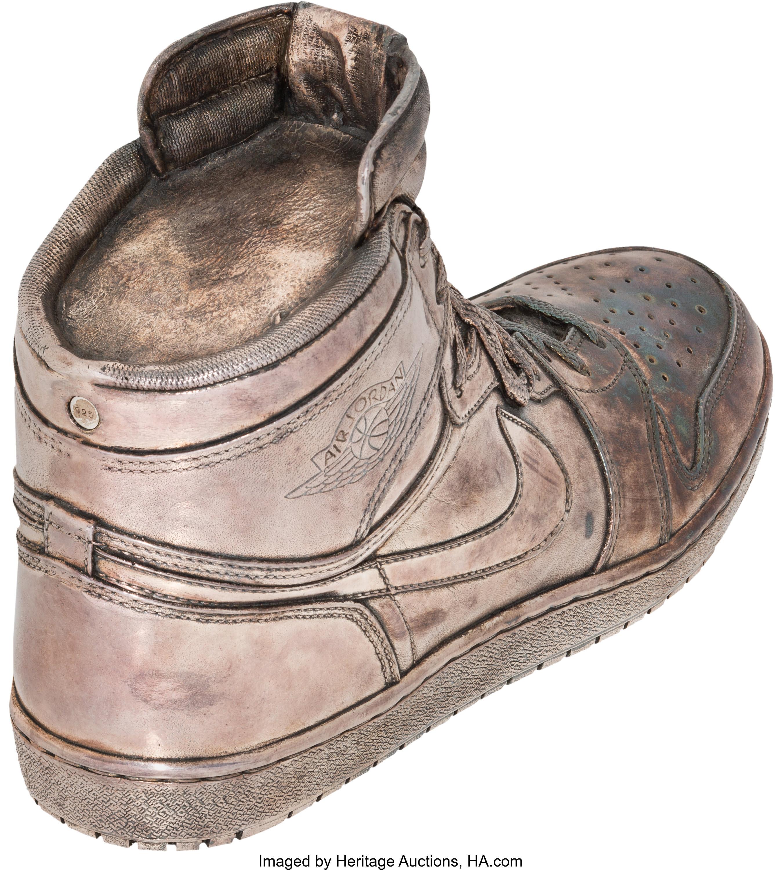 91dbf1ab5988 ... australia image via heritage auctions air jordan 1 silver auction 2d4b9  4ef4a inexpensive cheap nike air jordan xx8 se men sports shoes dark ...