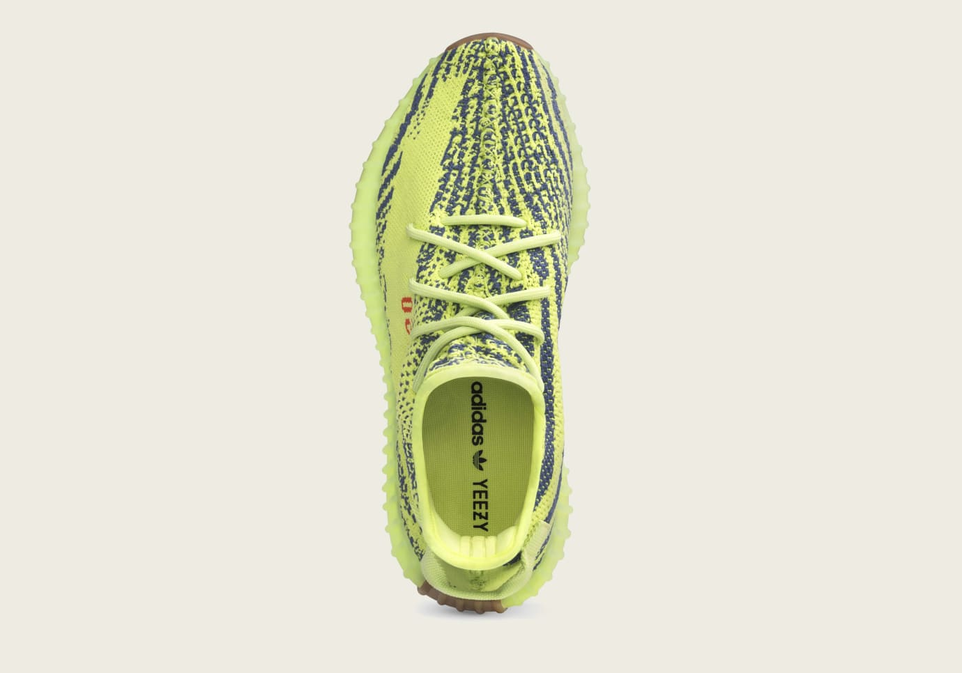 40b0e82cc00 Image via Yeezy Mafia · Adidas Yeezy Boost 350 V2  Semi Frozen Yellow   B37572 (Top)