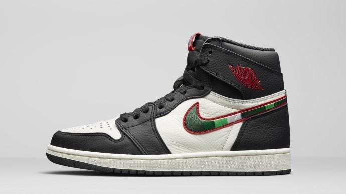 Air Jordan 1 High OG 'A Star Is Born' 555088-015 (Lateral)