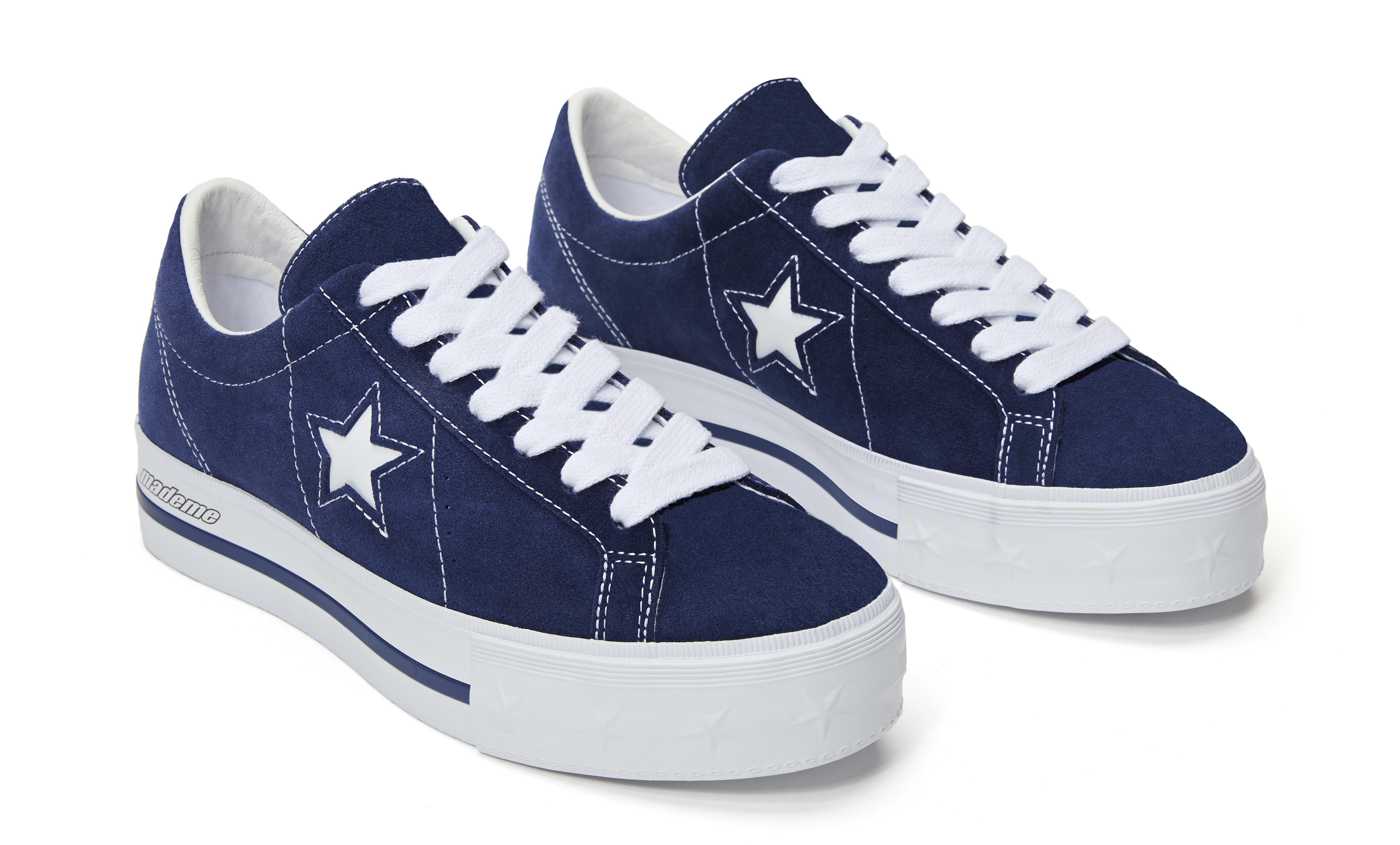 Mademe x Converse One Star 'Medieval Blue' (Pair)