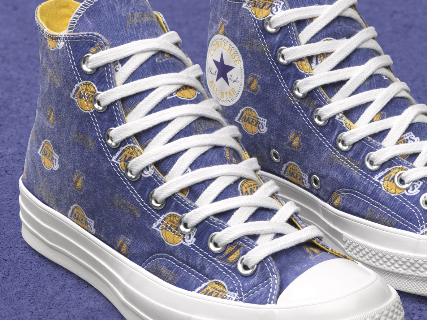 converse x nba city edition 'los angeles lakers'