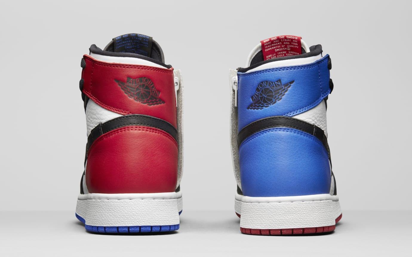 5f209af88ed60f Image via Nike Air Jordan 1 Rebel  Top Three  AT4151-001 (Heel)