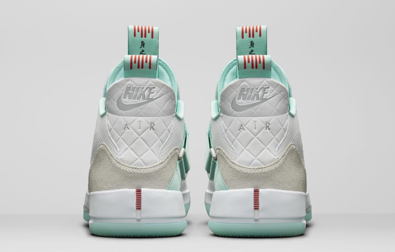 c0a131de8f1a68 Image via Nike Air Jordan 33 Guo Ailun PE AQ8830-101 (Heel)