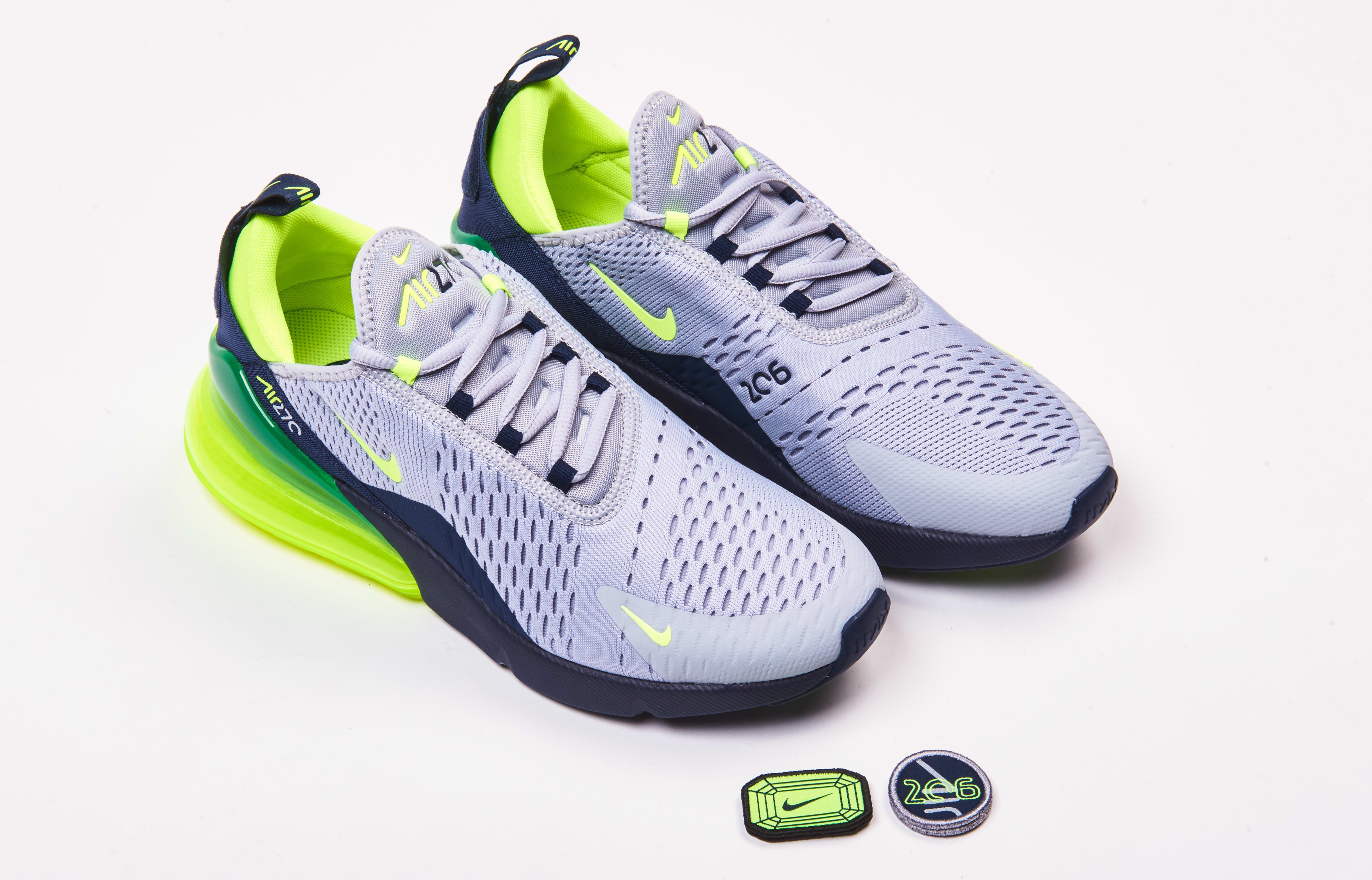 super popular 30439 4a592 Nike Air Max 270 'Seattle 'Home and Away' Pack Release Date ...