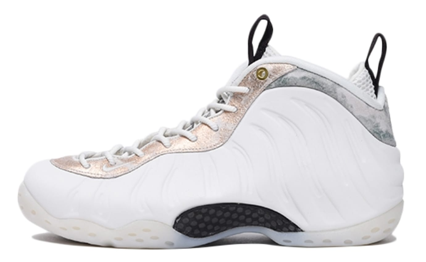 df4af5c929a Image via Billy s · Nike Women s Nike Air Foamposite One Summit White  Release Date AA3963-101 Profile