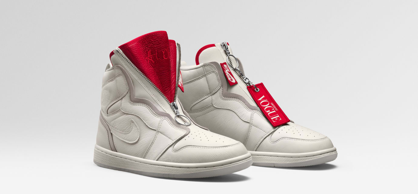 Vogue x Air Jordan 1 Zip AWOK 'Sail'