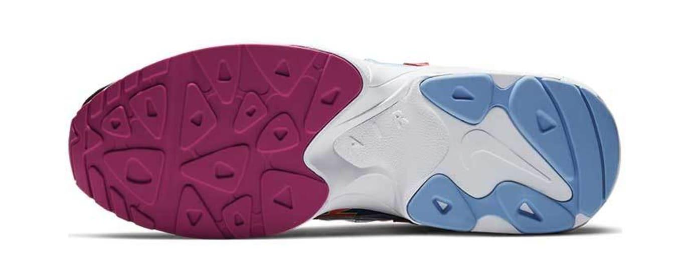 Atmos x Nike Air Max2 Light 'Black/Bright Crimson' BV7406-001 (Bottom)