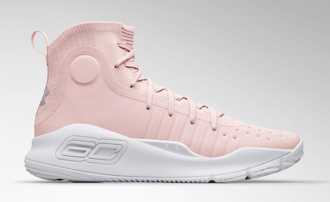 65625c2fbb91 Image via Under Armour Under Armour Curry 4  Flushed Pink  2