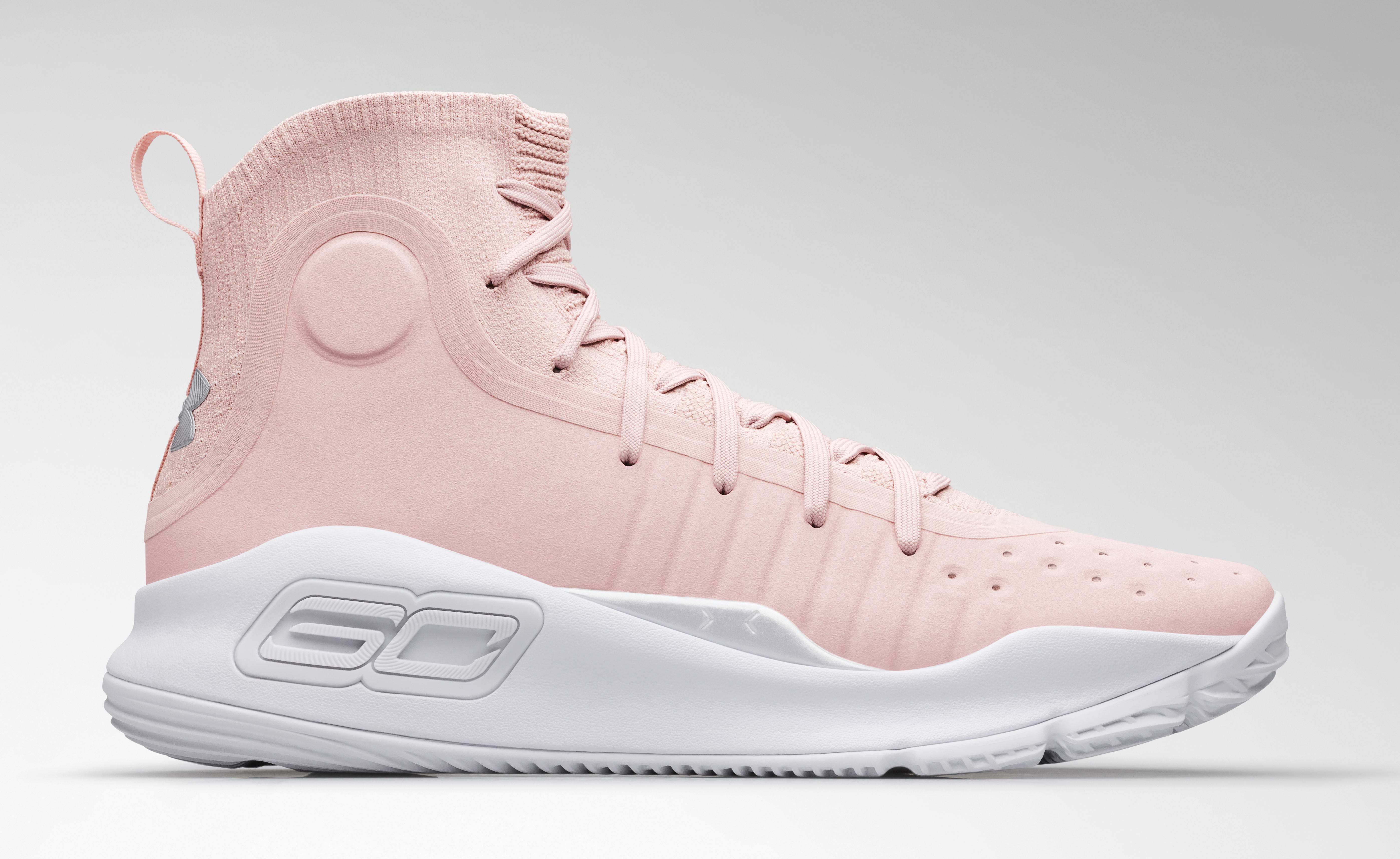 Under Armour Curry 4 'Flushed Pink' 2