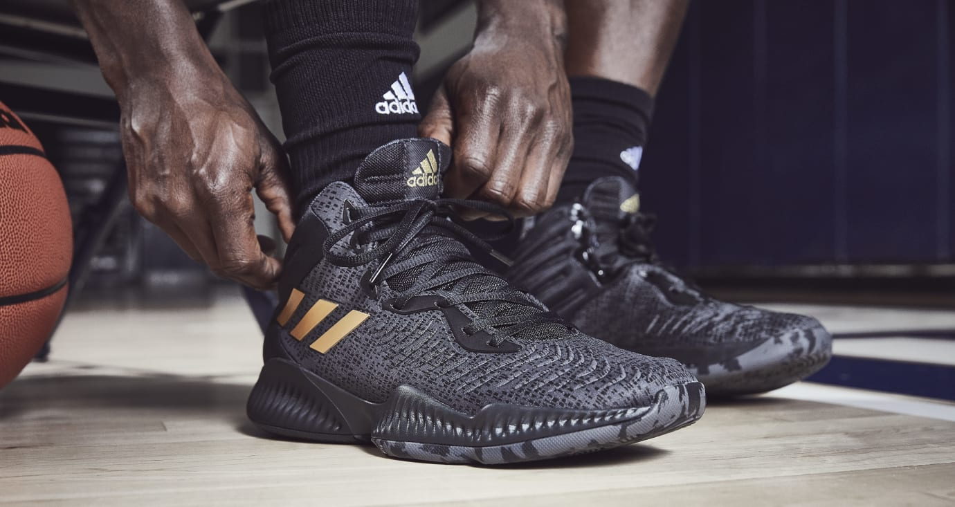 Adidas Mad Bounce 'Black/Gold' 1