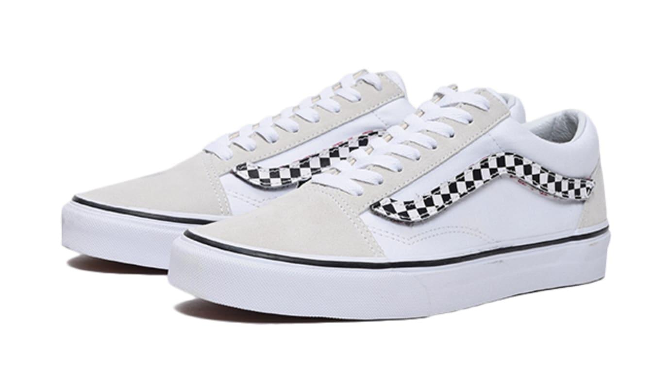 Vans Old Skool White Removable Stripe