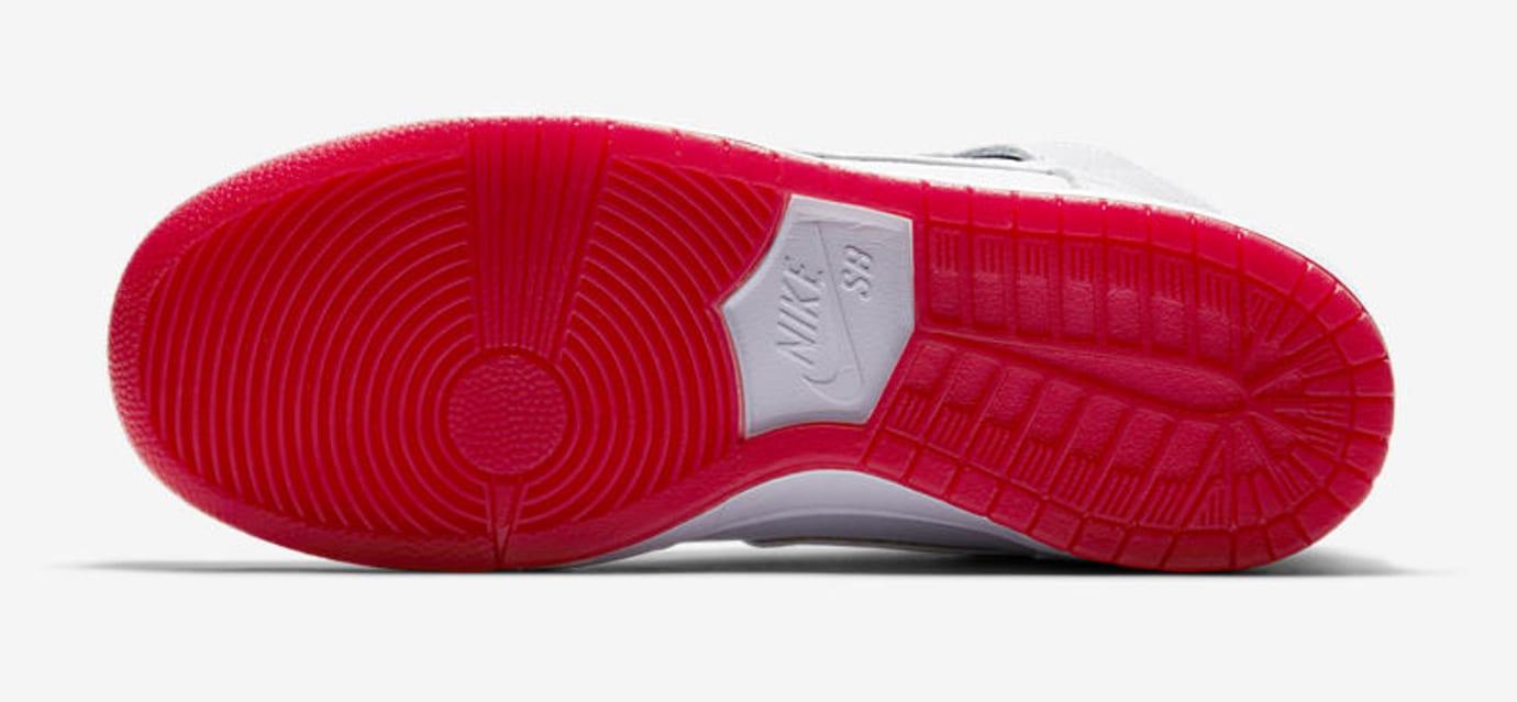 Nike SB Dunk High 'Kevin Bradley' AH9613-116 (Bottom)