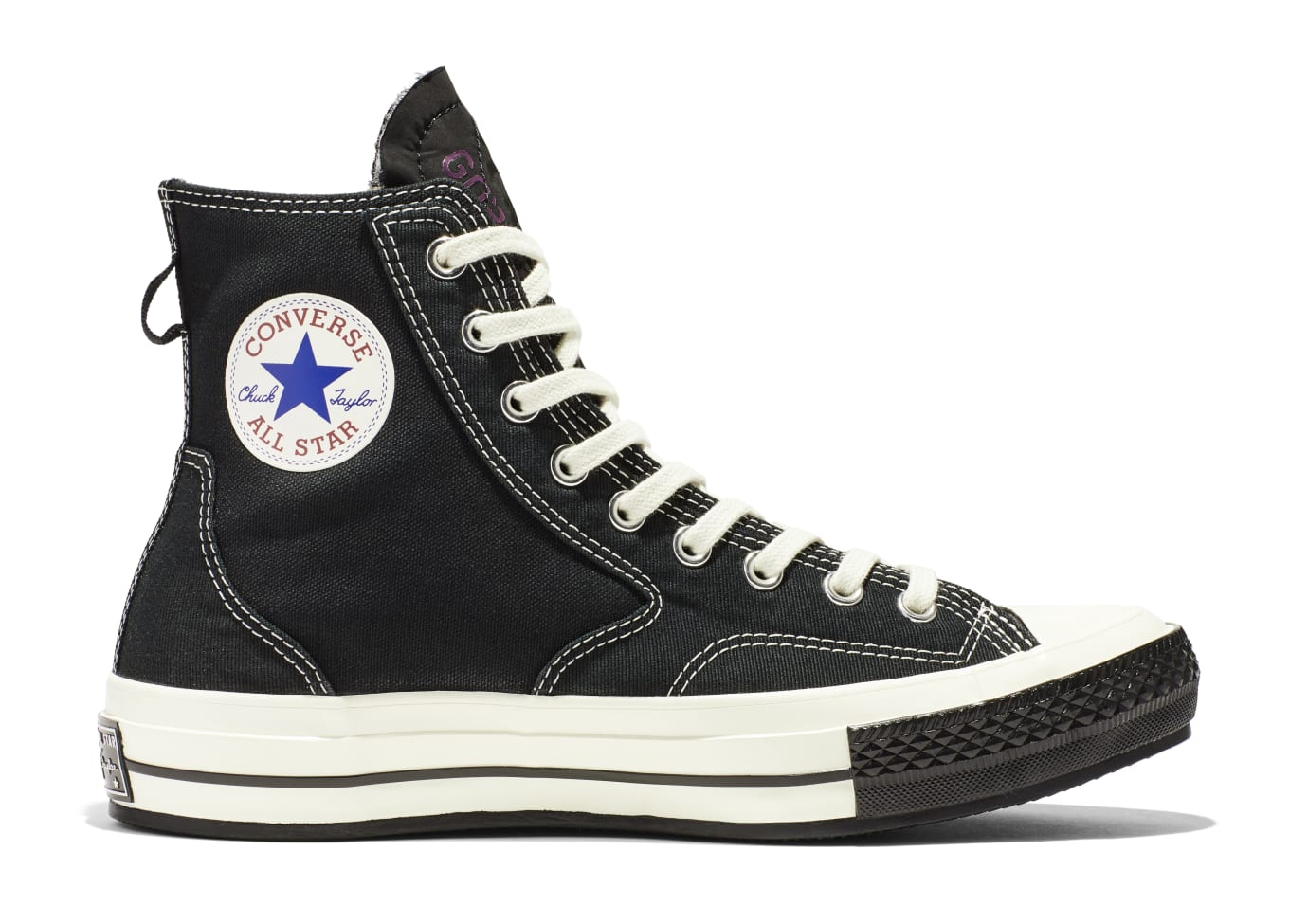 Converse Urban Utility '70 Hiker 'Black' (Lateral)