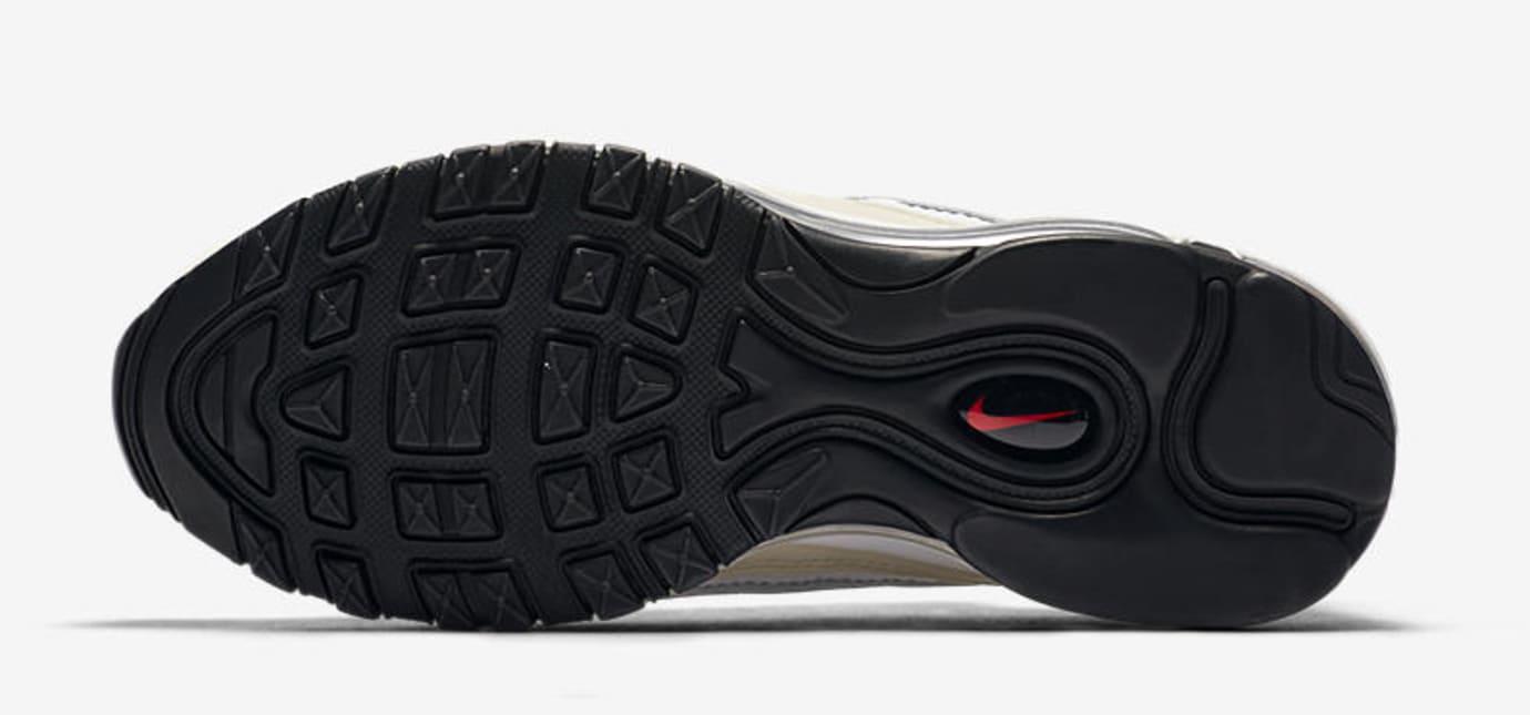 WMNS Nike Air Max 98 'White/Black/Fossil' AH6799-102 (Bottom)