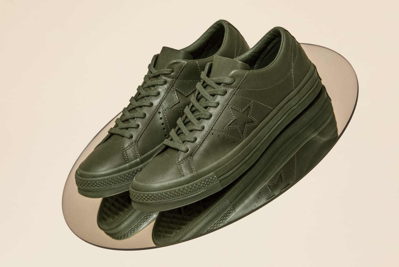 Converse x Engineered Garments One Star Collection (Olive)