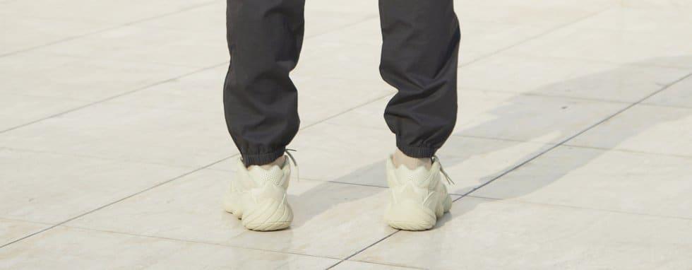 Adidas Yeezy 500 'Super Moon Yellow' (On-Foot Heel)