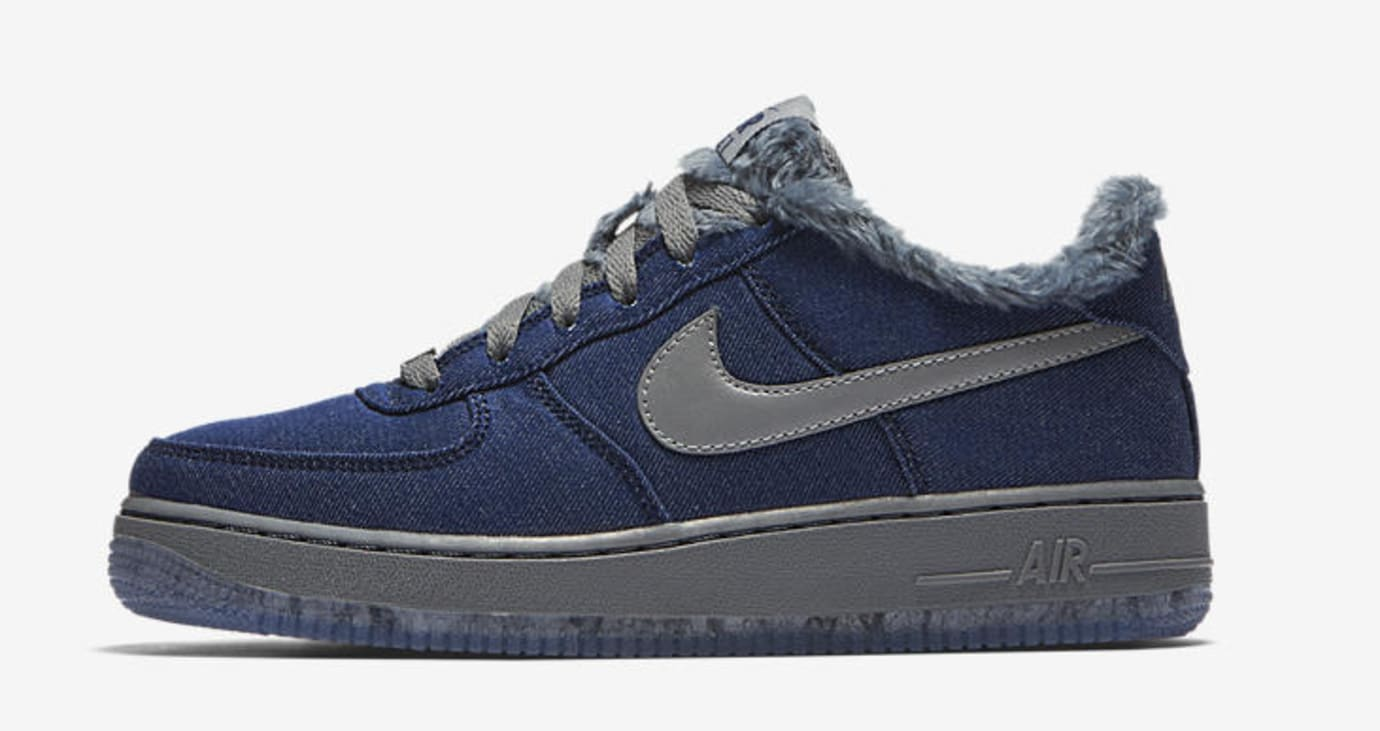Nike Air Force 1 GS 'Full Moon' (Lateral)