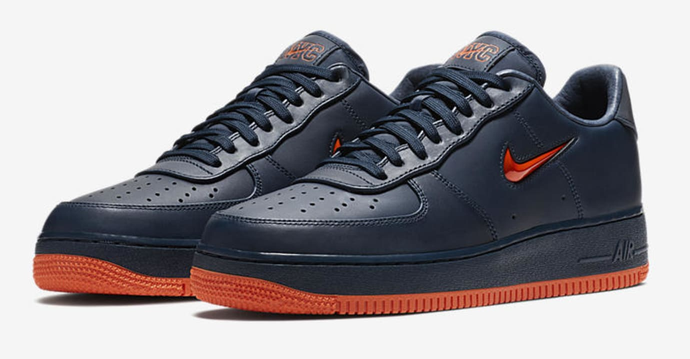 Nike Air Force 1 Low 'NYC's Finest' AO1635-400 (Pair)