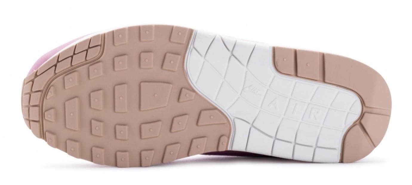 Nike Air Max 1 Premium Women's Pink Glaze Release Date Sole 454746-601