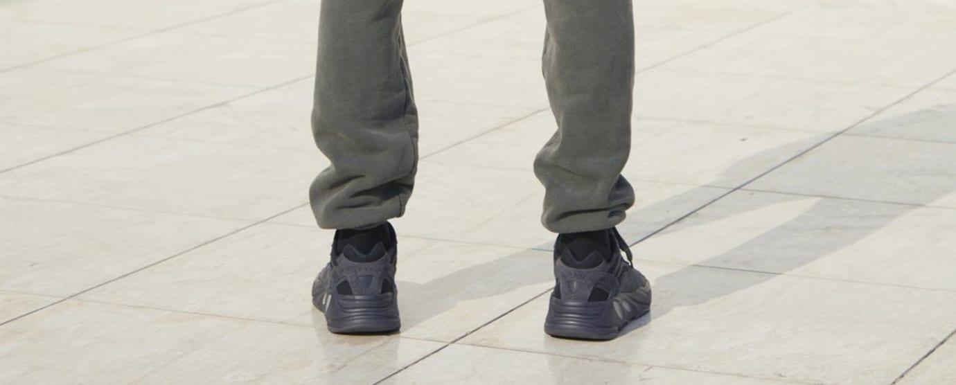 Image via Yeezy Supply Adidas Yeezy Boost 700  Black  (On-Foot Heel) Image  via Yeezy Supply Adidas Yeezy 500  Super Moon ... 5cb691b19