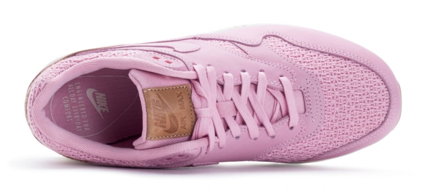 best website 5f2d1 d740f Nike Air Max 1 Premium Women s Pink Glaze Release Date Top 454746-601