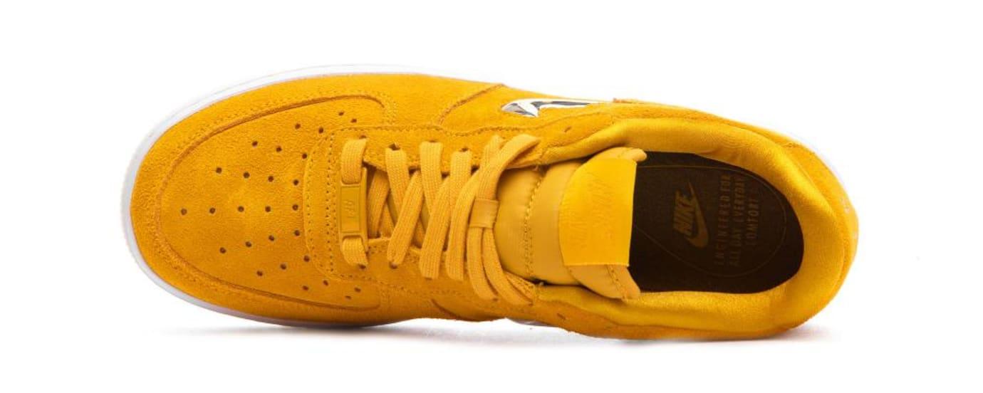 27ee593d4228 Image via BSTN · Nike Air Force 1  07  Yellow Ochre Metallic Silver White   AO3814