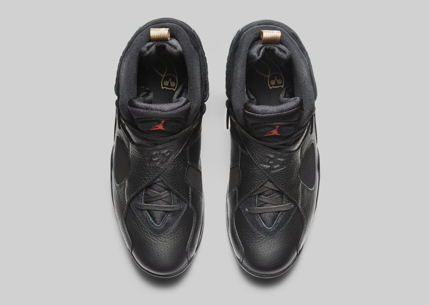 best loved 1244a 8cba7 Image via Nike Air Jordan 8  OVO  Black Metallic Gold-Varsity Red-Blur  AA1239