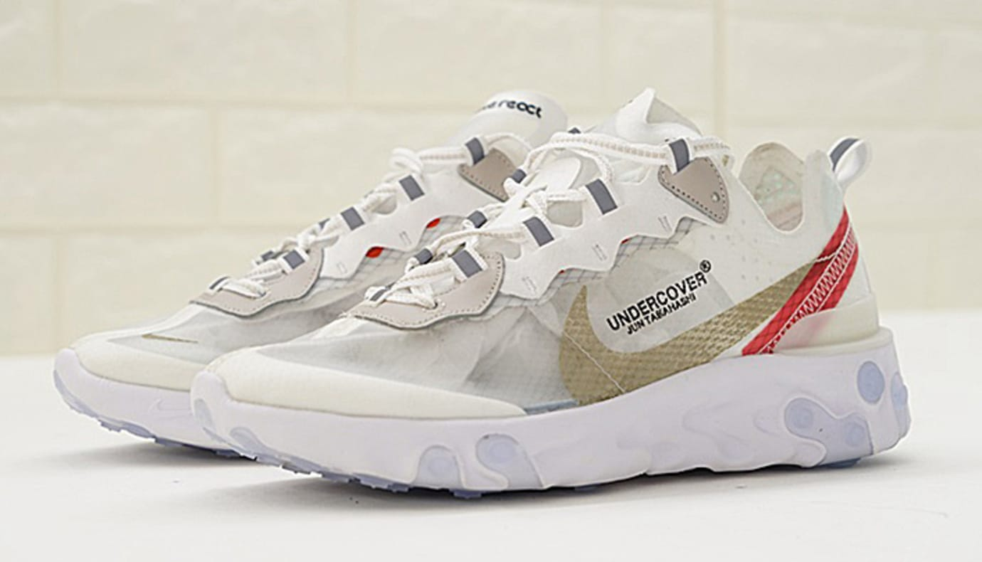 6ad0a9bb54b18 Undercover x Nike React Element 87 AQ1813-001 AQ1813-339 AQ1813-001 ...