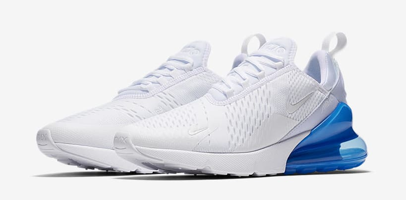 Nike Air Max 270 'White Pack/Photo Blue' AH8050-105 (Pair)