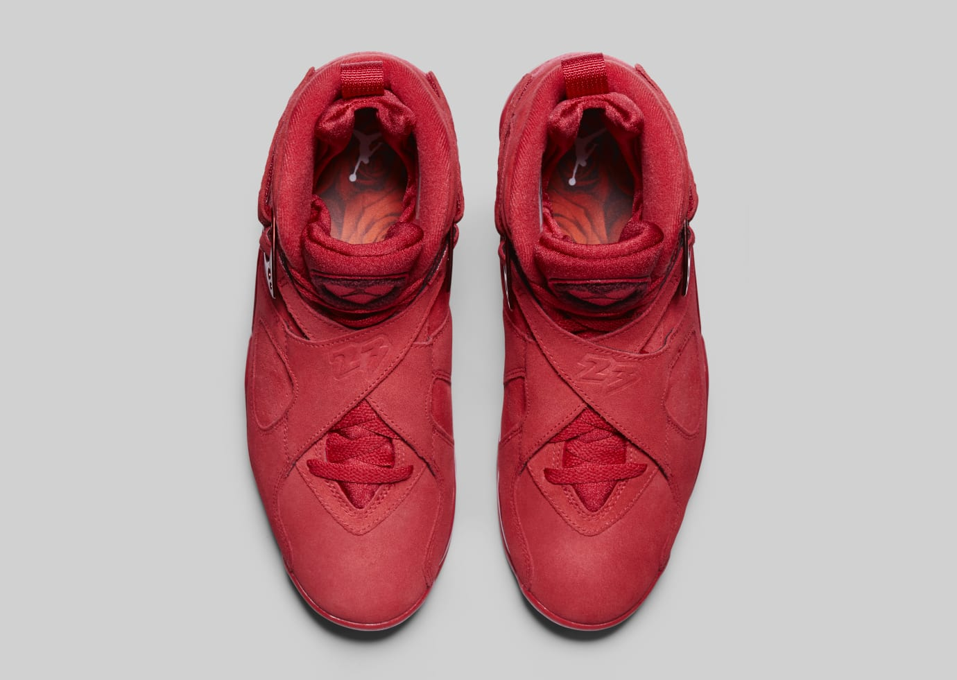 new product 6995c 5bb20 Image via Nike Air Jordan 8  Valentine s Day  AQ2449-614 (Top)