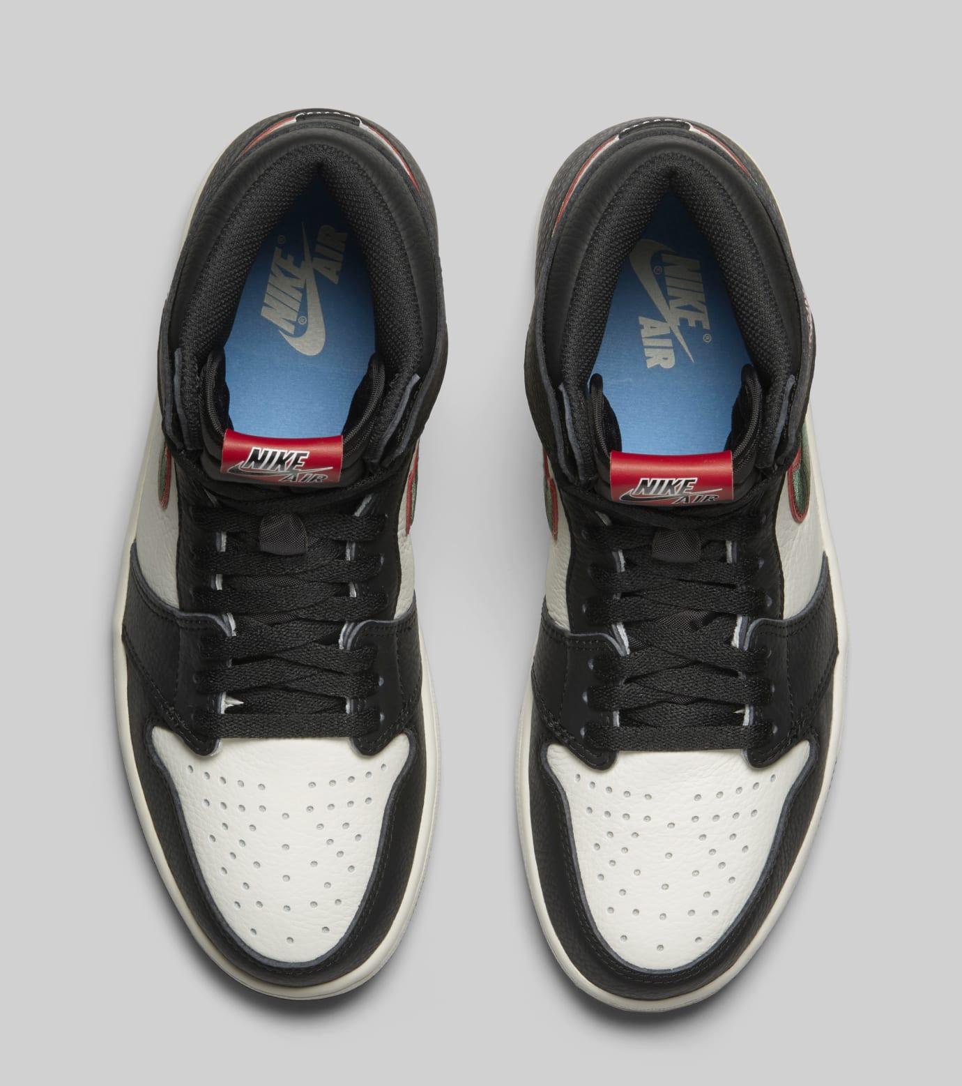 Air Jordan 1 High OG 'A Star Is Born' 555088-015 (Top)