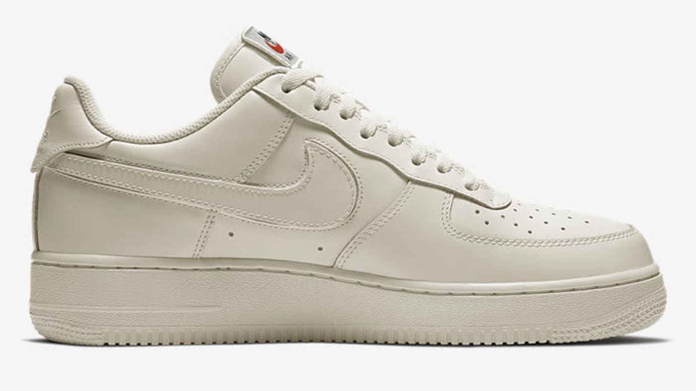Nike Air Force 1 'Swoosh Pack' in sail Releasing Feb. 15 for