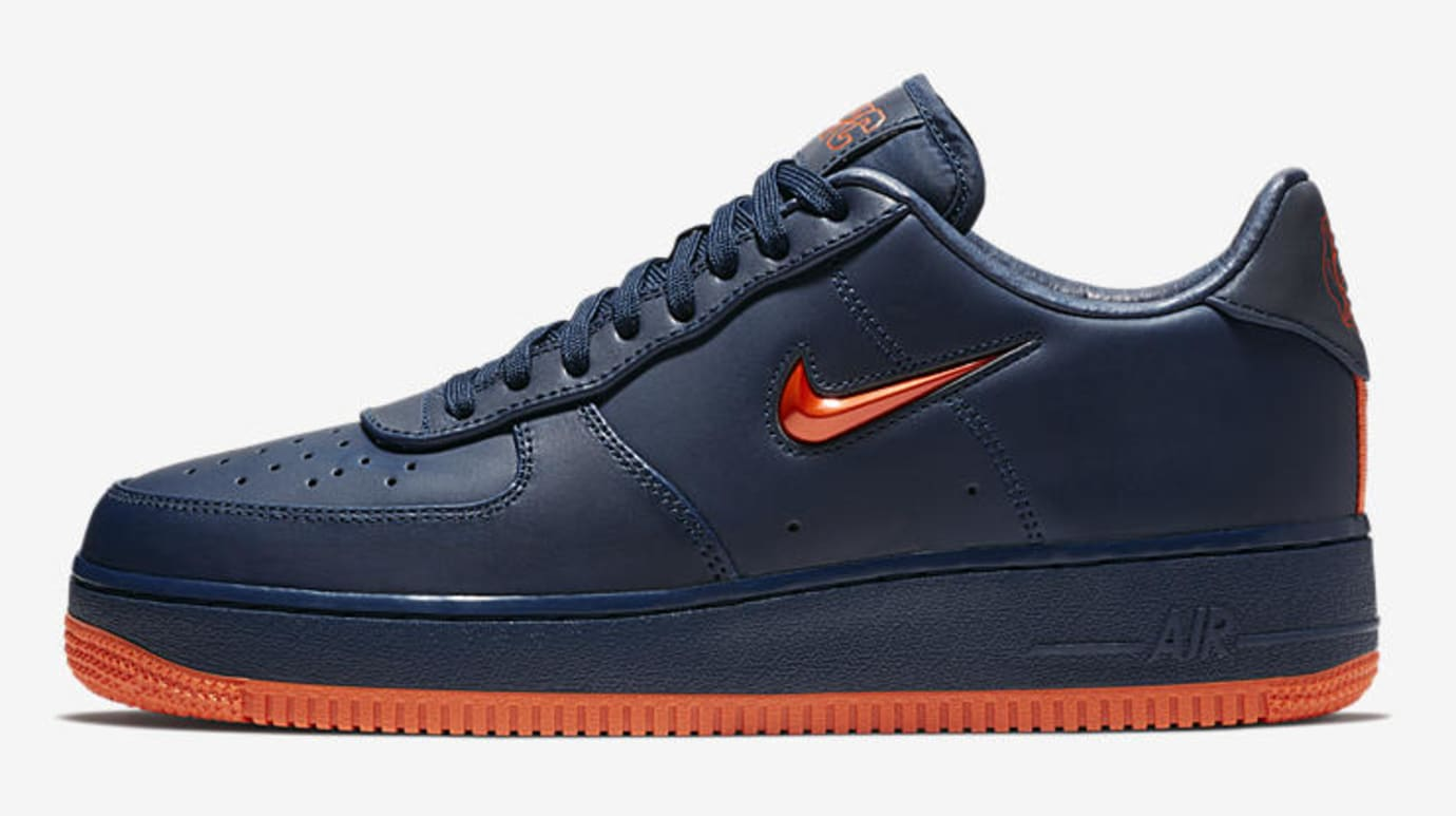ba79e932e3fcf4 Image via Nike Nike Air Force 1 Low  NYC s Finest  AO1635-400 (Lateral)
