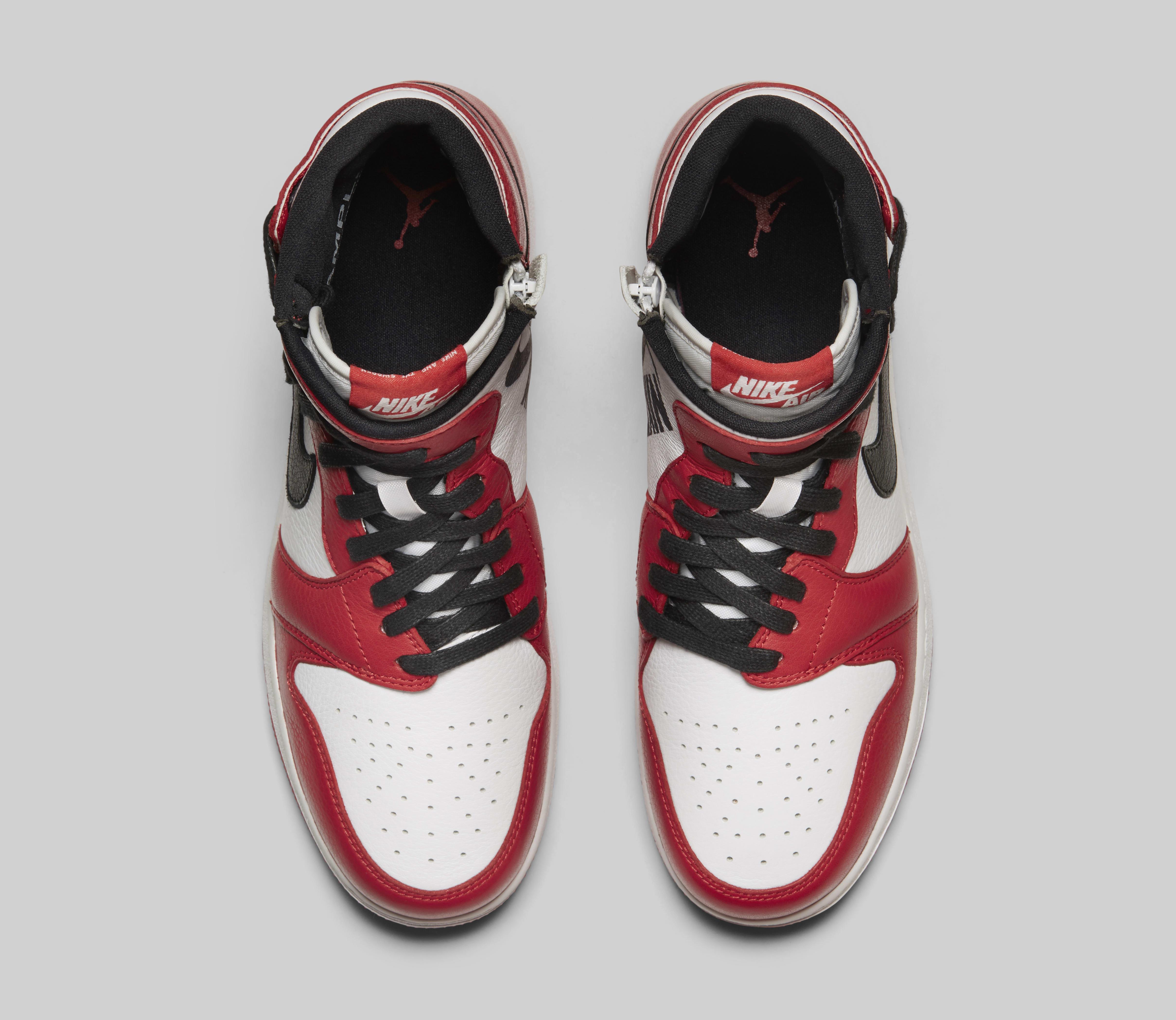 Air Jordan 1 Rebel 'Chicago' AT4151-000 (Top)