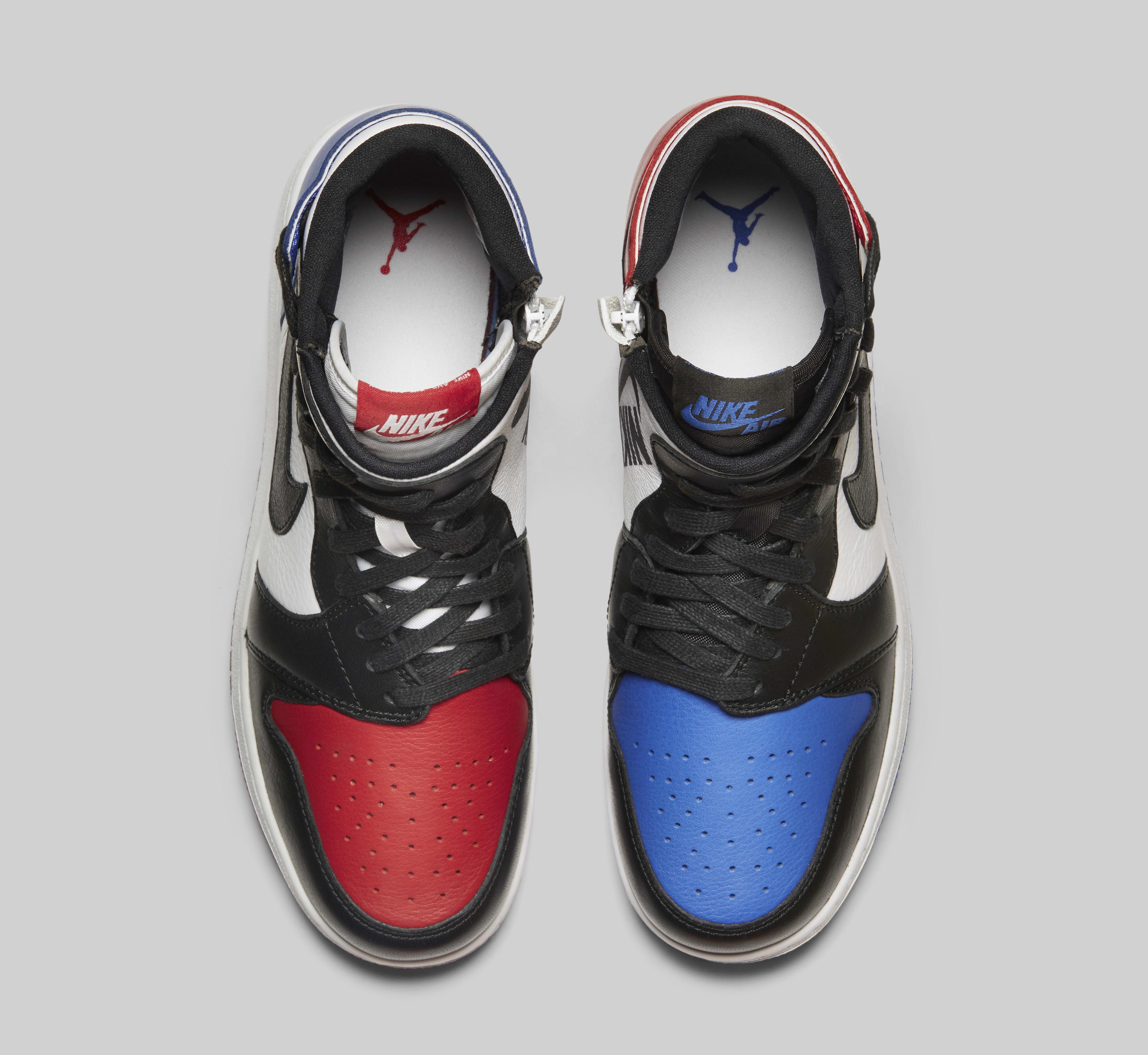 Air Jordan 1 Rebel 'Top 3' AT4151-001 (Top)