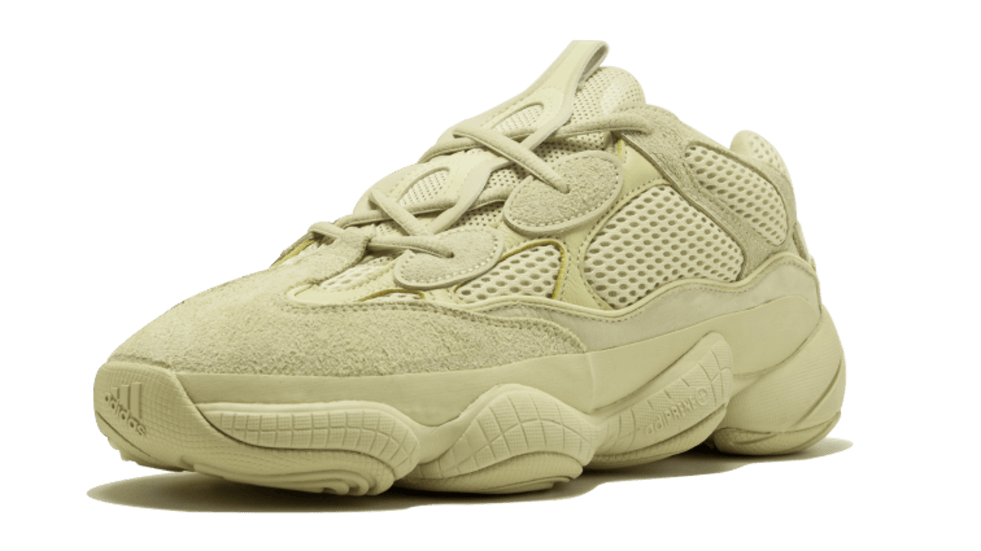 A Closer Look at the  Super Moon Yellow  Adidas Yeezy 500s  27059e800