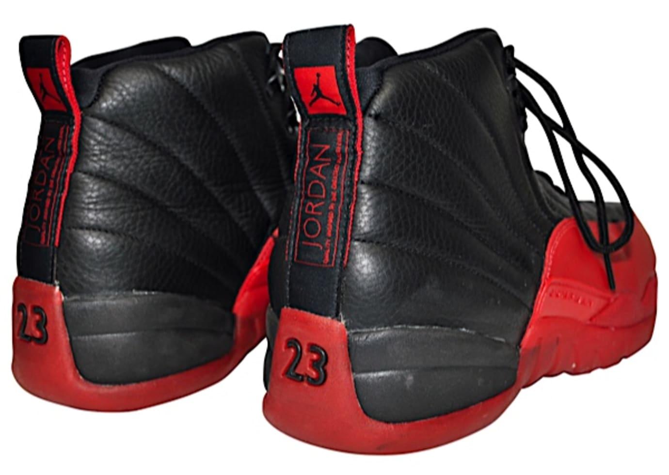 Michael Jordan Flu Game Air Jordan 12 Game 3 1997 Eastern Conference Finals Heel