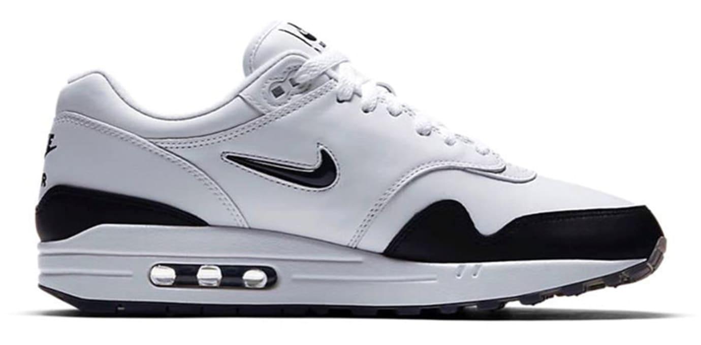 Nike Air Max 1 Jewel 'Black/White' 918354-100 (Medial)