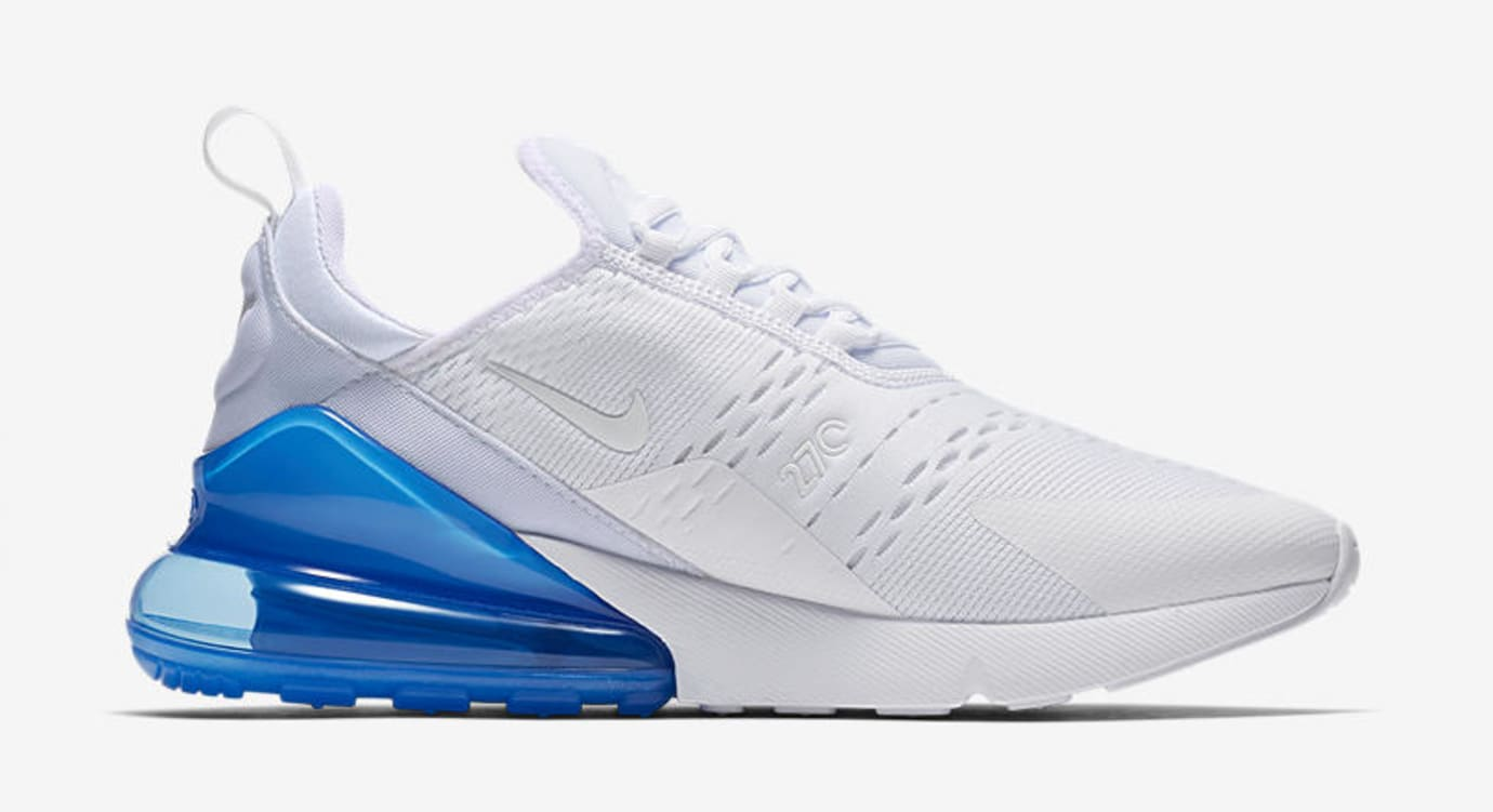 Nike Air Max 270 'White Pack/Photo Blue' AH8050-105 (Medial)