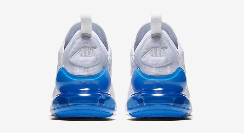 Nike Air Max 270 'White Pack/Photo Blue' AH8050-105 (Heel)