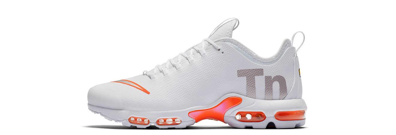 Nike Mercurial TN 'White' (Lateral)