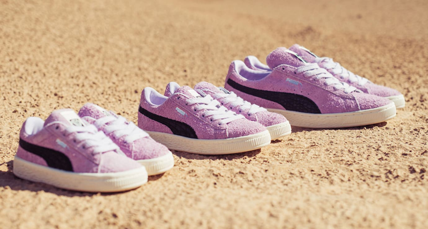 Diamond Supply Puma Suede 'Pink'