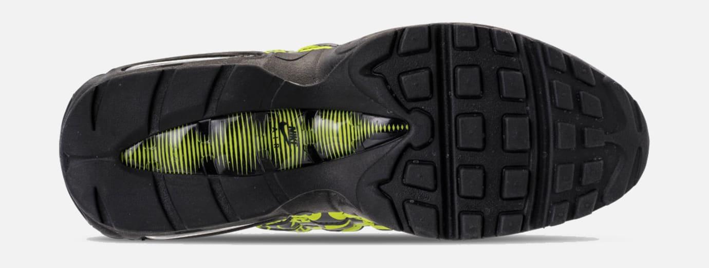 Nike Air Max 95 'Black/Volt/Ash White' 538416-019 (Sole)