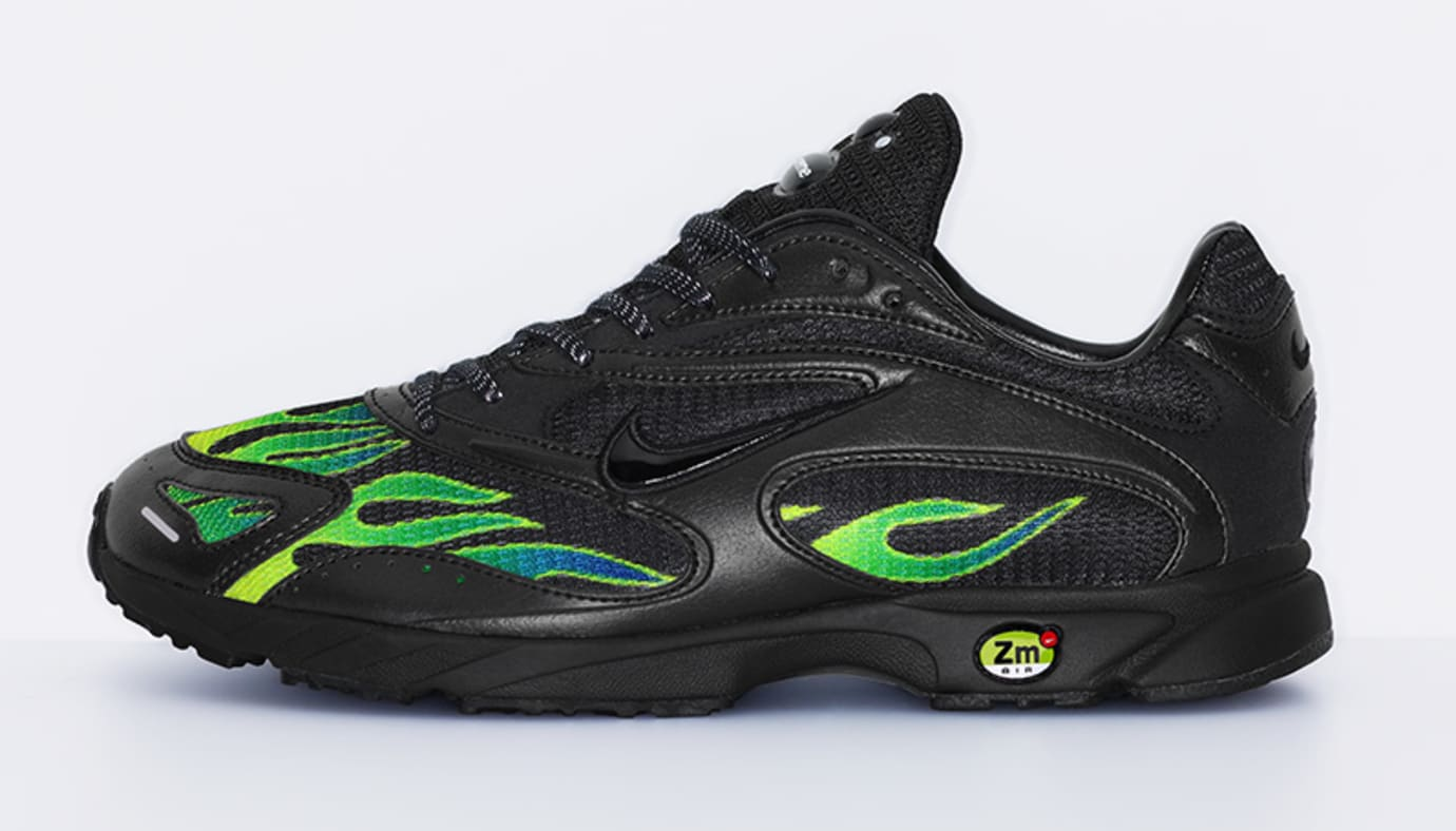 Supreme x Nike Zoom Streak Spectrum Plus AQ1279-001 (Lateral)