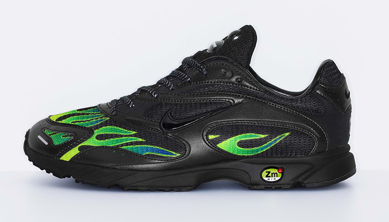 Supreme x Nike Zoom Streak Spectrum Plus AQ1279-001 (Lateral)