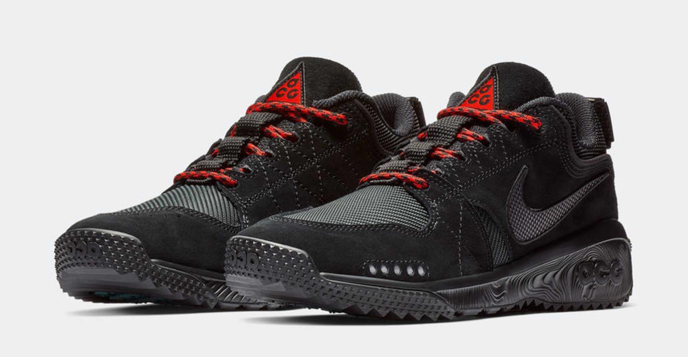 Nike ACG Dog Mountain 'Black/Red' (Pair)