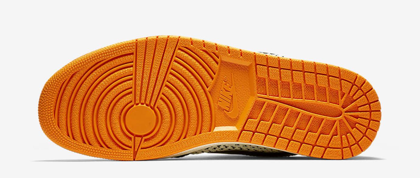 d31c5199ba28 Image via Nike US11 · Air Jordan 1 Low Flyknit  Shattered Backboard  (Sole)