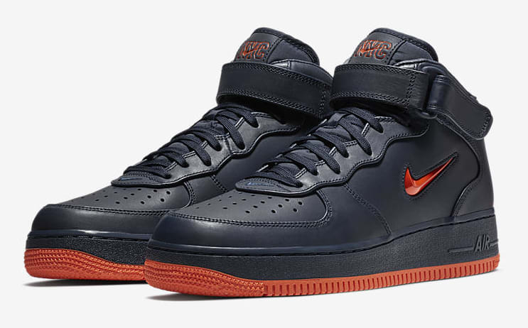 Nike Air Force 1 Mid 'NYC's Finest' AO1639-400 (Pair)