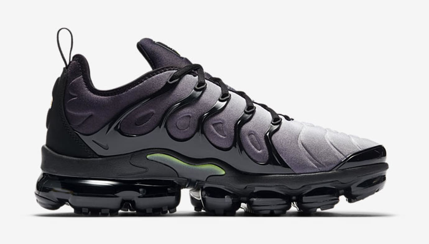 Nike Air VaporMax Plus 'Black/Volt' 924453-009 (Medial)