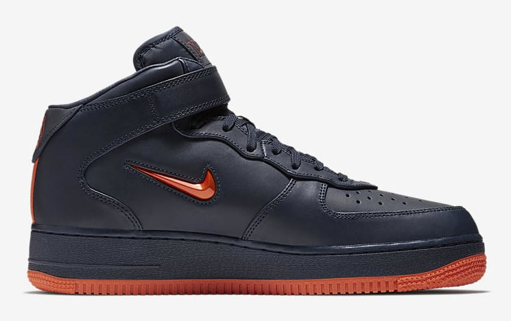 Nike Air Force 1 Mid 'NYC's Finest' AO1639-400 (Medial)